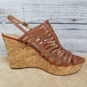 Franco Sarto Shoes - Franco Sarto Strappy Sandals Platform Wedge Heels